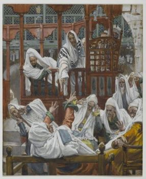 Jesus casts out demon in Capernaum, James Tissot (1836-1902)
