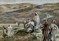 Jesus sends out his disciples, James Tissot (1836-1902)