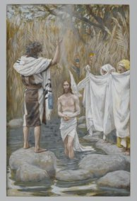 The Baptism of Jesus (Baptême de Jésus) (1886-1894), James Tissot (1836-1902), Brooklyn Museum