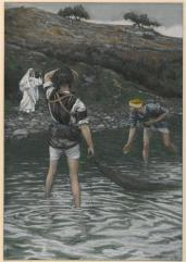 The Calling of Saint Peter And Saint Andrew (Vocation De Saint Pierre Et Saint André), James Tissot (1836-1902)