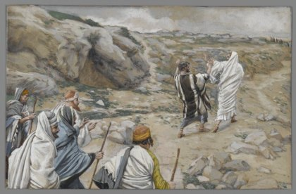 Get Thee Behind Me, Satan (Rétire-toi, Satan) (1886-1896), James Tissot (1836-1902)