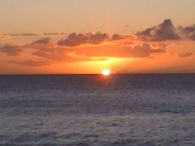 Hawai'ian sunset
