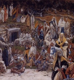 A view from the cross (edited), James Tissot (1836-1902)