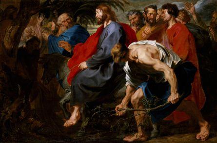 Jesus enters Jerusalem, Anthony van Dyck (1599-1641)