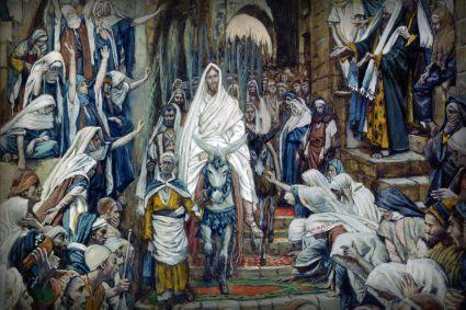 Jesus enters Jerusalem, James Tissot (1836-1902)
