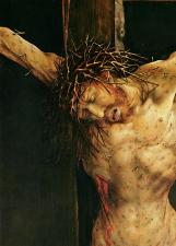 Christ on the Cross, Matthias Grünewald (1470-1528)