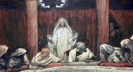 Jesus appears to his disciples, James Tissot (1836-1902)