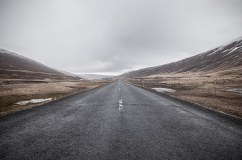 road (with horizon)