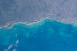 sea & land (satellite image)