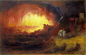 The Destruction of Sodom and Gomorrah, John Martin (1789-1854)