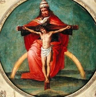 The Trinity, Fernando Yáñez de la Almedina (1475-1536)