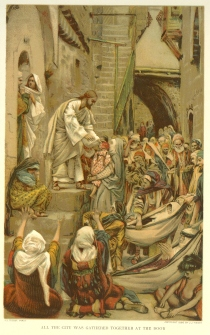 All the City Was Gathered at the Door, James Tissot (1836-1902)