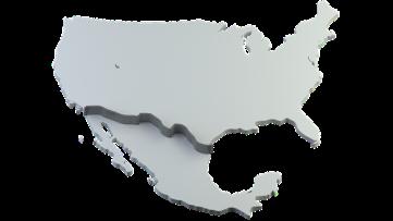 America-Mexico border