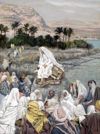 Jesus Teaching on the Seashore, James Tissot (1836-1902)