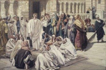 The Pharisees Question Jesus (1886-1894), James Tissot (1836-1902)