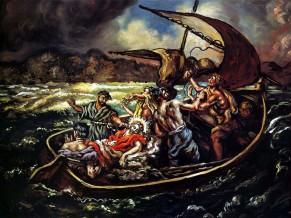 Christ And The Storm (1914), Giorgio de Chirico (1888-1978)