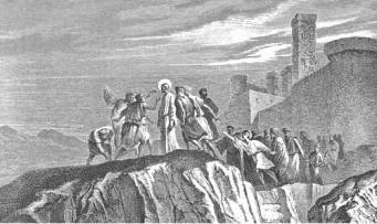 Jesus Rejected at Nazareth, Alexandre Bida (1813-1895)