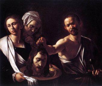 Salome with the head of John the Baptist (1607), Michelangelo Merisi da Caravaggio (1571-1610)