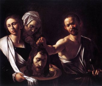 Salome with the head of John the Baptist (1607), Michelangelo Merisi da Caravaggio (1571-1610)