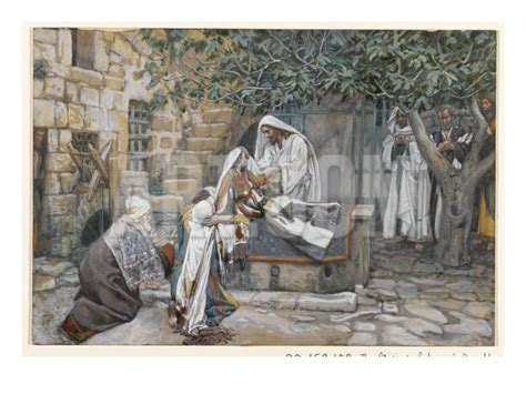 The Raising of Jairus' Daughter, James Tissot (1836-1902)