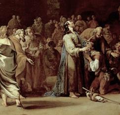 Jesus heals a deaf man, Bartholomeus Breenbergh (1598-1657)