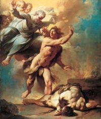 Cain and Abel (1740), Giovanni Domenico Ferretti (1692-1768)