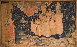 La nouvelle Jérusalem (Tapisserie de l'Apocalypse), The New Jerusalem (Tapestry of the Apocalypse), based on a 14th tapestry