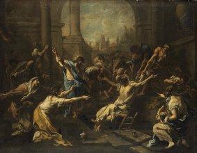 Raising of Lazarus, Alessandro Magnasco (1715-1740), Rijksmuseum, Amsterdam