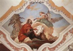 The Prophet Isaiah, Giovanni Battista Tiepolo (1696-1770)