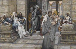 The Widow's Mite, James Tissot (1836-1902)