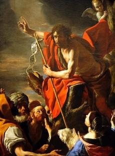 St. John the Baptist Preaching (c.1665), Mattia Preti (1613-1699)