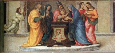 Circumcision of Jesus (1503), Mariotto Albertinelli (October 1474-November 1515), Uffizi Gallery, Florence, Italy