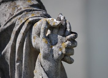 blessing - hand-in-hand statuary