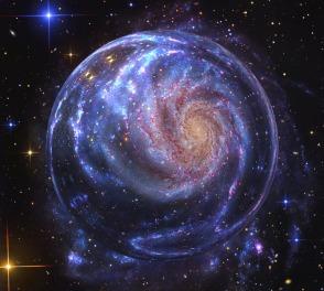 galaxy, cosmos - creation