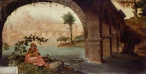 Jonah under his bush, Maerten van Heemskerck (1498-1574)