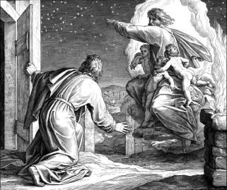 God Shows Abram the Stars, Julius Schnorr von Carolsfeld (1794-1872)