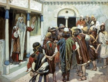 Moses speaks to the people, James Tissot (1836-1902)