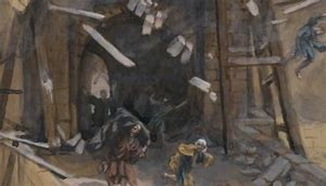 The Fall of the Tower of Siloam, James Tissot (1836-1902)