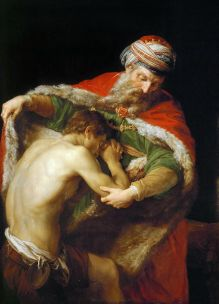 The Return of the Prodigal Son, Pompeo Girolamo Batoni (1708-1787)