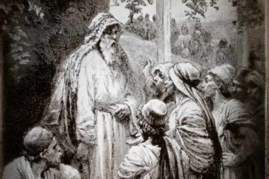 ancient rabbi teaching