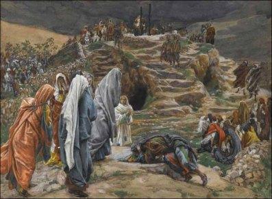 The Holy Women Witness from Afar, James Tissot (1836-1902)