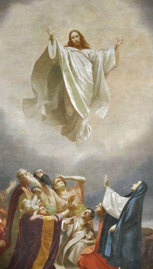 Ascension of Christ (1893), Gebhard Fugel (1863-1939)