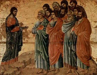 Jesus Appears to the Disciples, Duccio di Buoninsegna (c. 1255-c. 1319)