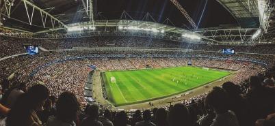 stadium, soccer, crowd