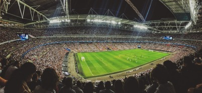 stadium, soccer, crowd
