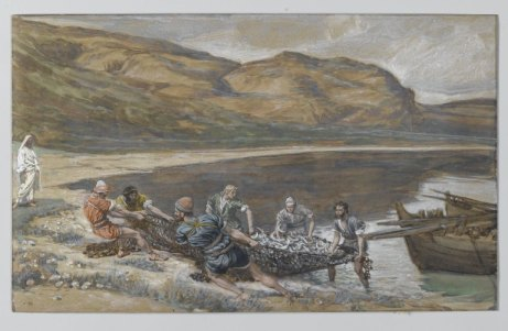 The Second Miraculous Draught of Fishes (La seconde pêche miraculeuse), James Tissot (1836-1902)