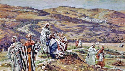 Christ Sending Out the Seventy, James Tissot (1836-1902)