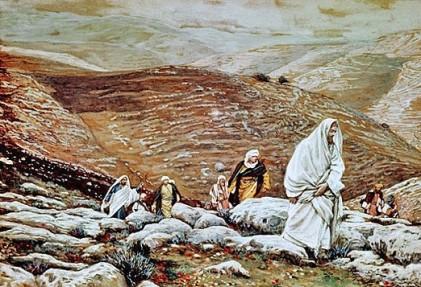 Jesus Sets His Face to Go to Jerusalem, James Tissot (1836-1902)