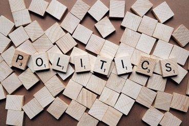 politics - Scrabble tiles