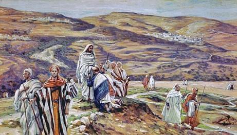 Christ Sending Out the Seventy, James Tissot (1836-1902)